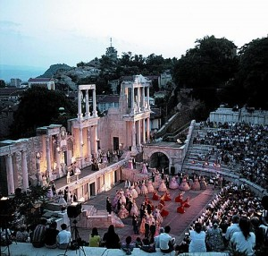 anciant theatre plovdiv
